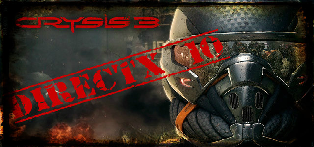 Crysis 3 dx9 patch free download.
